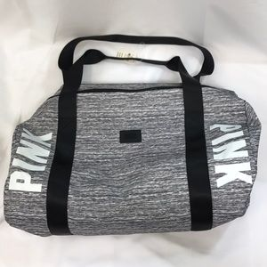 New Victoria's Secret Pink Gym Duffel Tote Bag